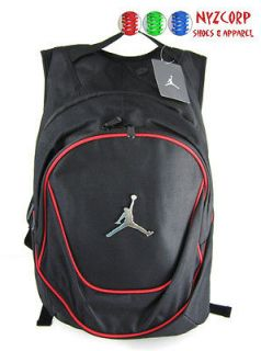 NIKE AIR JORDAN JUMPMAN SPORTS GYM BACKPACK BLACK VARSITY RED