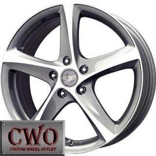 18 Gunmetal MB Twist Wheels Rims 5x114.3 5 Lug Mazda 3 6 TSX Civic RSX