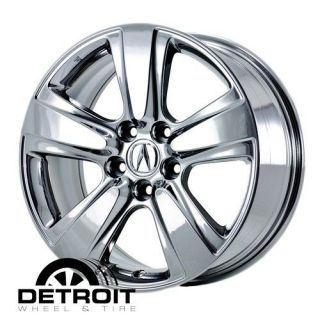 ACURA MDX 2010 2011 PVD Bright Chrome Wheels Rims Factory 71793