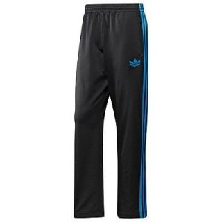 New Black Adidas Originals Firebird Track Mens Pants Size M (Retail $