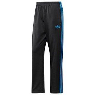New Black Adidas Originals Firebird Track Mens Pants Size M (Retail $