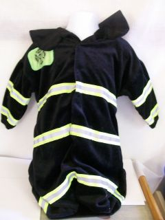 Fireman, Fire Man bunting, one size/baby/toddler halloween costume