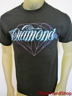 NWT Diamond Supply Co black shine on mens s/s shirt size medium $30