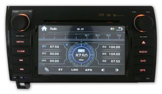 GPS Navigation Radio DVD LCD iPod In Dash Unit For 07 2011 Toyota