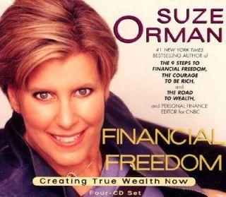 Freedom Creating True Wealth Now by Suze Orman 2002, CD