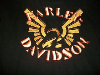 HARLEY DAVIDSON TOP SHIRT SEXY SZ S SM SMALL HARLY VERY NICE BUTTON