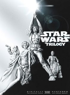 Star Wars Trilogy DVD, 4 Disc Set Widescreen