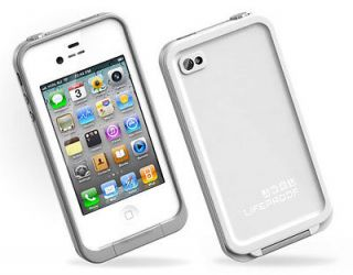NEW Lifeproof iPhone 4 4S Case Life Proof Gen 2 WHITE   FACTORY