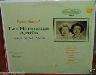 Las Hermanas Aguila   El Mejor Dueto De America Lp NM 2