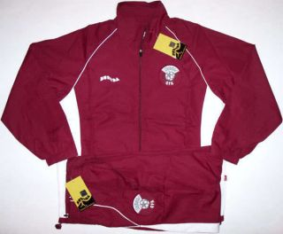 Qatar Full Tracksuit Set Football Soccer Jersey Shirt