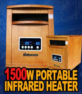 New 2013 1500W Diva Tranquility Portable Quartz Infrared Space Heater