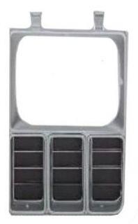 Side Headlamp Bezel Headlamp Door Black and Argent Chevy Truck Parts