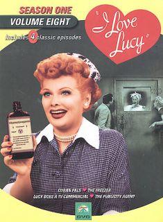 Love Lucy   Season 1 Vol. 8 DVD, 2003