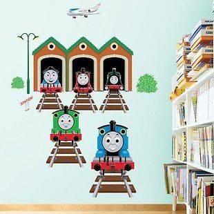 Train Thomas the Tank Engine Kids Wall Decals Nursery Sticker Baby