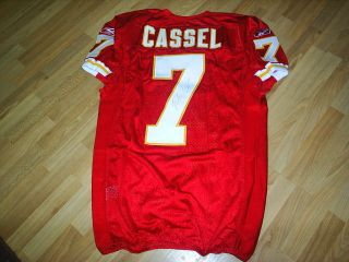 Kansas City Chiefs Game Issued Matt Cassel Autographed Jersey w/COA