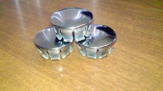 VINTAGE MINIBIKE FRAME CAPS CHROME CAPS MOTORCYCLE 1 MINI BIKE TUBE