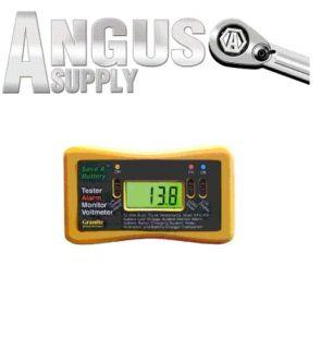 Automotive Battery Load Tester Alarm Monitor Voltmeter