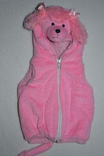 Toddler Girl PINK POODLE COSTUME Size 18   36 months Halloween