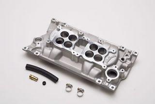 Edelbrock C 26 Dual Quad Intake Manifold Chevy SBC 283 327 350 Fits