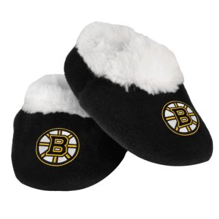 Boston Bruins NHL Hockey Logo Baby Bootie Slippers Shoes   Choose Size