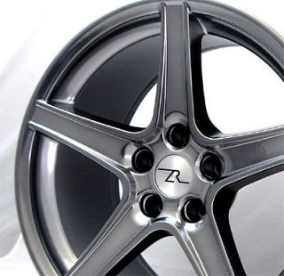 18 x9 & 18x10 inch HyperBlack Mustang ® Wheels fit Saleen 18 1994