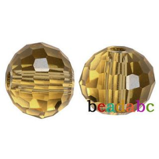 100pcs 6mm Disco Ball 5003 For Swarovski Crystal Beads Jewelry Smoky
