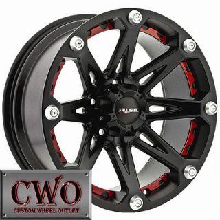 20 Black Ballistic Jester Wheels Rims 8x170 8 Lug Ford F250 F350 Super