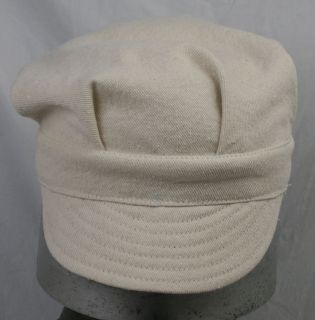 VINTAGE STYLE WORKWEAR RAILROAD ENGINEER CAP HAT ZASU CAPS size 7 1/2