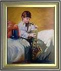 High quality oil painting Shepherd Boy Playing Bagpipes
