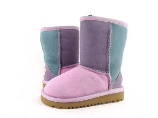 Shoes   UGG AUSTRALIA   TODDLER CLASSIC PATCHWORK BOOTS ROSE QUARTZ M