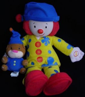 Disney Talking Bedtime Jojo's Circus Clown Plush Doll