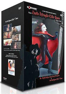 The Emilio Miraglia Killer Queen Box Set DVD, 2006, 2 Disc Set