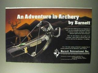 1986 Barnett Demon Trackless Compound Crossbow Ad, Advertisement