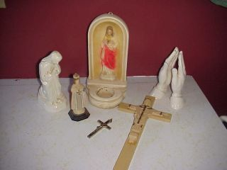 antique catholic statues in Collectibles