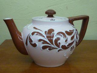 Lovely James Macintyre Burslem tea pot C1896 Designed by Harry Barnard