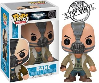 Funko DC POP HEROES BANE from Batman Dark Knight 3.75 VINYL FIGURE