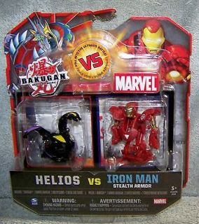 BAKUGAN VS MARVEL HELIOS VS RED IRONMAN SET 2011
