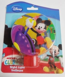 Disney Mickey Mouse Night Light Bedroom Bathroom Kitchen NIP
