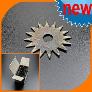 45 Lot Star toothed Cutters Blades For Bench grinder Grinding Wheel