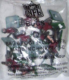 Tudor Electric Football Tampa Bay Buccaneers Big Men D 2007 NFL Last