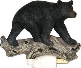 Bear Night light/3D/Cabin Decor, Bath Light,Riversedge 1275