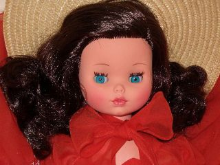 Vintage Italy Italian Furga vinyl doll Valentina 45 original outfit