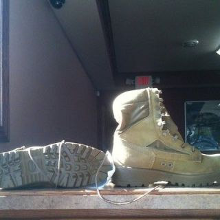 USMC Hot Weather Combat Boots Bates Wolverine Warrior Jungle Desert