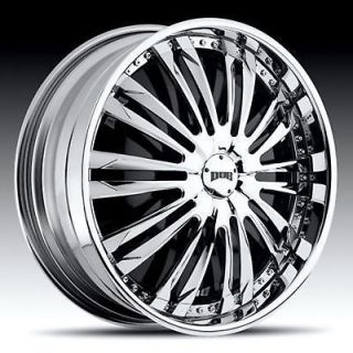 26 DUB DA BOMB SPINNER CHROME WHEEL SET