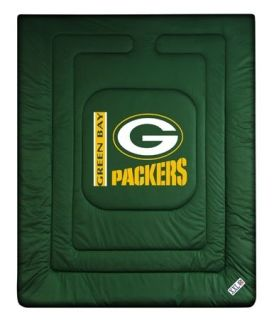 NFL GREEN BAY PACKERS LR (5) Piece Comforter Bed Set