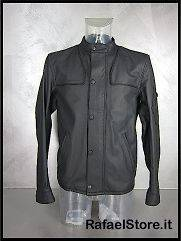 BELSTAFF Mens Jacket Leather L IT 713772 Hardmead Blouson Man Black