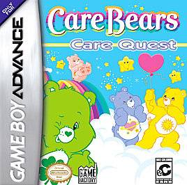 Care Bears Care Quest Nintendo Game Boy Advance, 2005