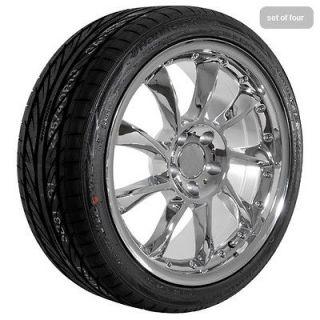 18 inch Mercedes Benz 2010 CL CLK E S SL chrome wheels rims and tires