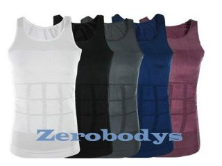 Zerobodys Mens Slimming Vest Body Shaper   Various Colors & Sizes