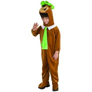 Deluxe Yogi Bear Costume Child Toddler Boys Classic Cartoon Character